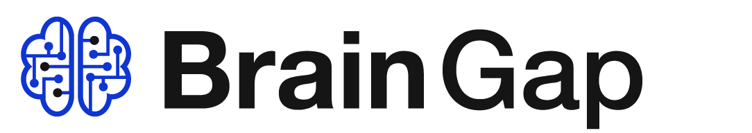 Brain Gap Logo inverse